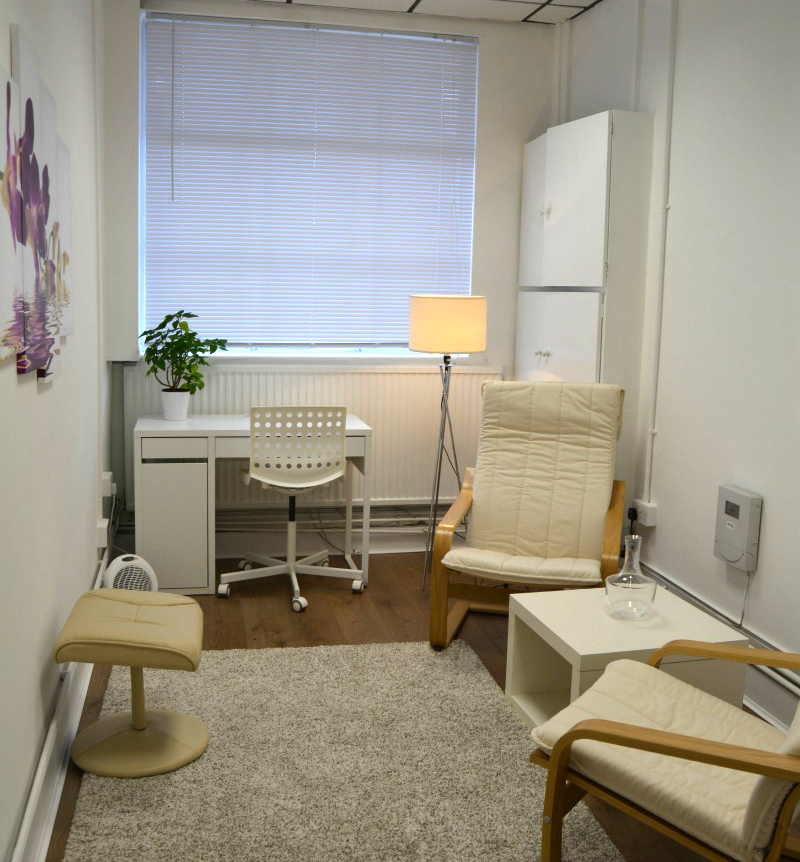 Therapist's Room at Finchley Therapy Practice