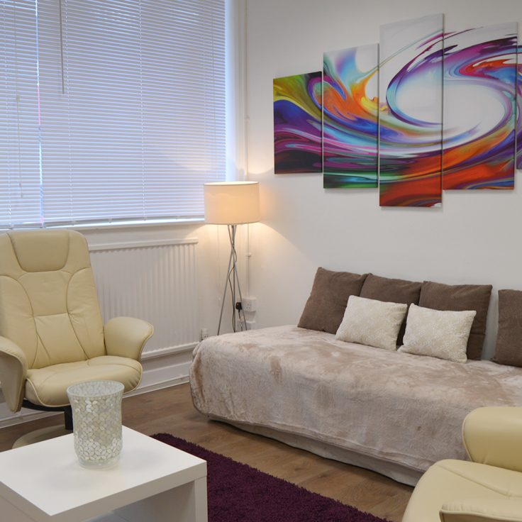 Finchley Therapy Practice Clinic Room